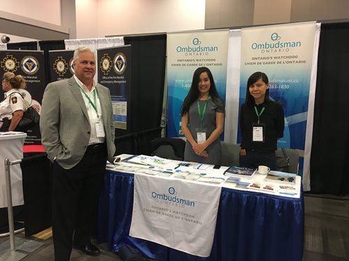 Ombudsman and staff at the AMO conference, August 2017