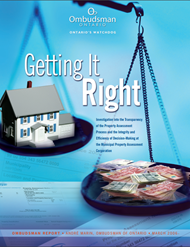 cover image of the Getting it Right report