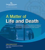 'A Matter of Life and Death' investigation Cover
