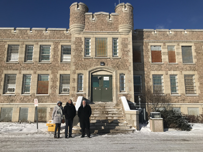 December 10, 2019: Ombudsman Paul Dubé and investigators visit Thunder Bay Jail to meet with correctional officials and inmates and view conditions firsthand.