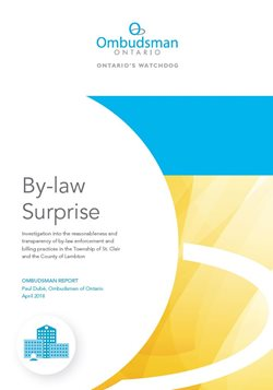 cover image of By-law Surprise report