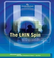 Image of the cover of The LHIN Spin report